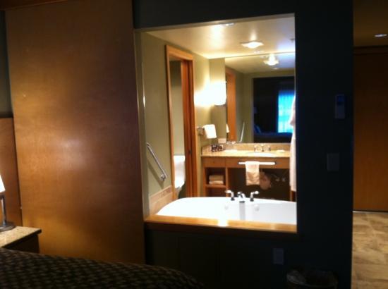 Friday Harbor House Restaurant: cool bathroom