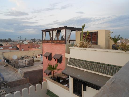 Riad Kheirredine: terrasse