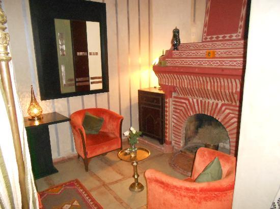Riad Kheirredine: salon Eucalyptus
