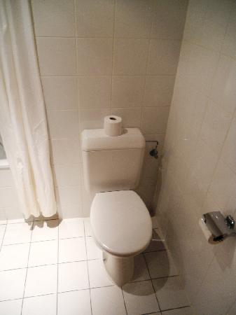Aris Grand Place Hotel: Toilet