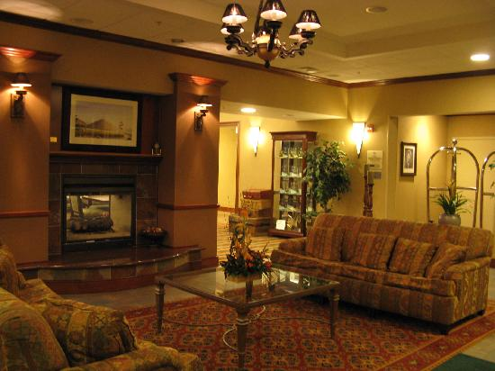 Homewood Suites by Hilton Manchester/Airport: Manchester Homewood Lobby