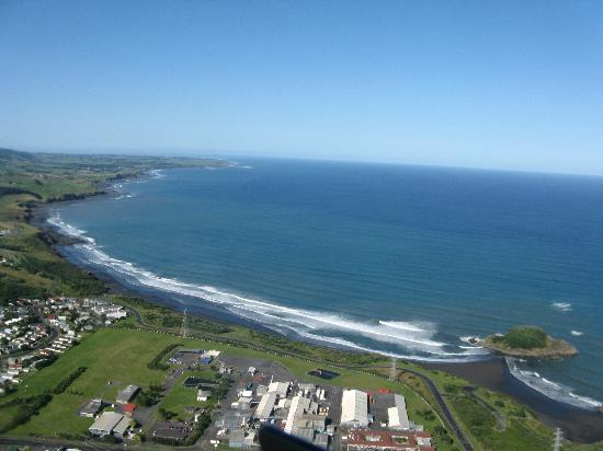 Taranaki Coastline Picture Of Heliview Flights Cromwell