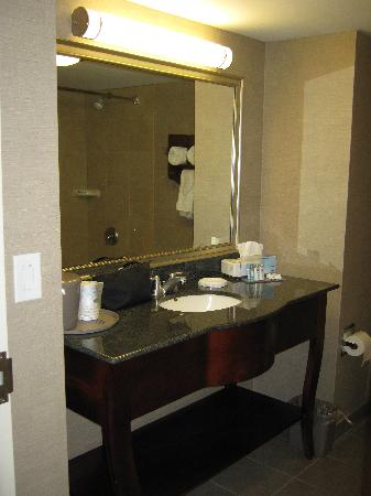 Hampton Inn & Suites by Hilton Barrie: bathroom