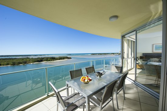 The Duporth Riverside Apartments : Balcony Outlook