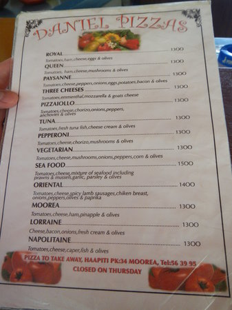 Pizza Daniel