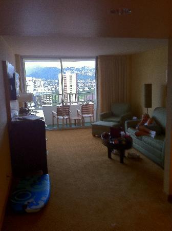 Waikiki Resort Hotel: The Room
