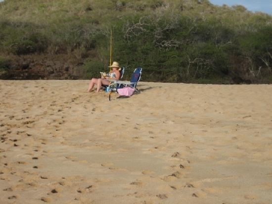 Ke Nani Kai: a crowded beach!!!