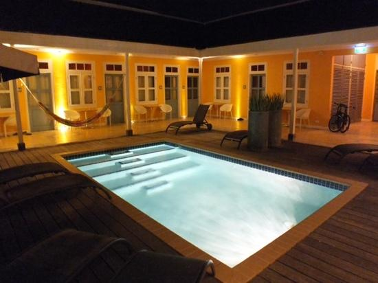 Boutique Hotel 't Klooster: Pool area