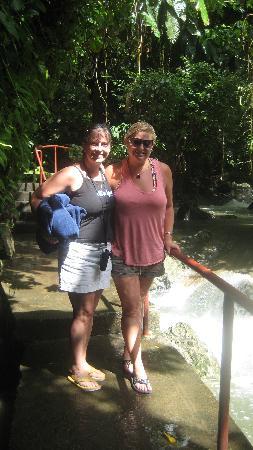 Traci and Julie at Somerset Falls