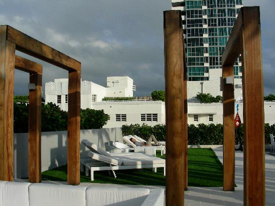 Boulan South Beach: roof deck