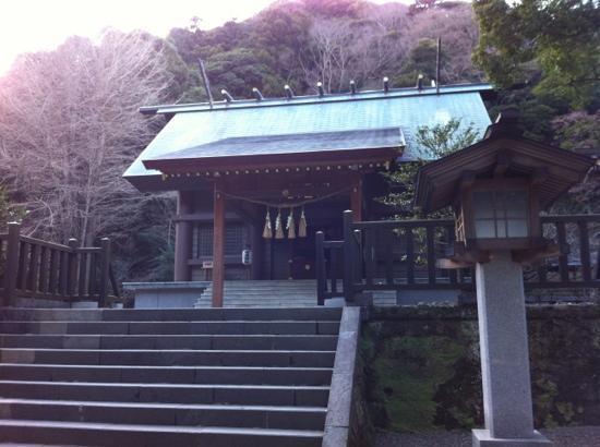 Awa Jinja: 拝殿