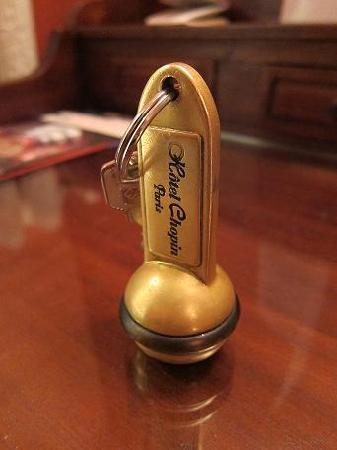 ホテルショパン, 鍵