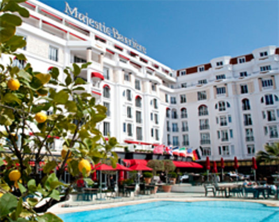 Hotel Barriere Le Majestic Cannes: Le Majestic Barrière à Cannes