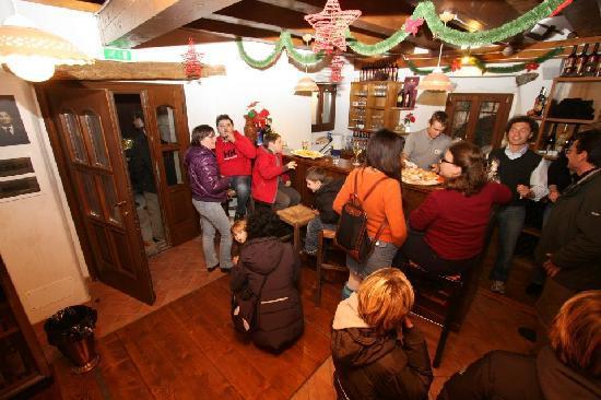 Taverna Sturman: l'interno