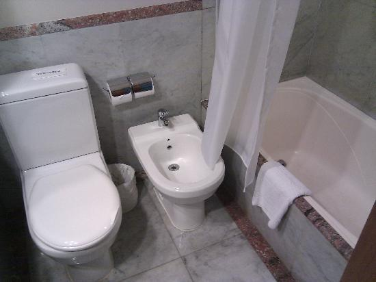 Pestana Sao Paulo: Bidet and Bathtub