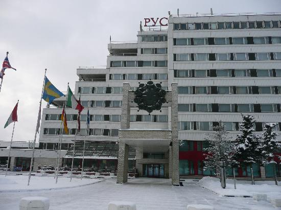 Rushotel: Hotel  RUSOTEL von außen  Jan 2012