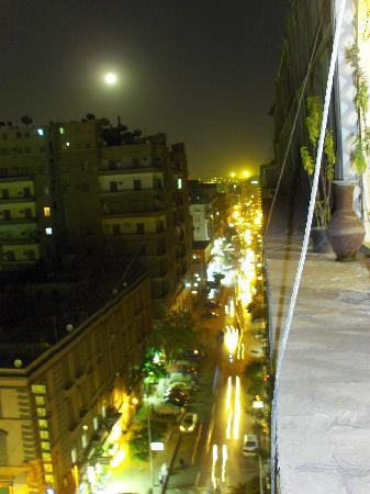 Cairo Moon Hotel: View from the balcony
