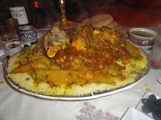 Kenza: le succulent couscous