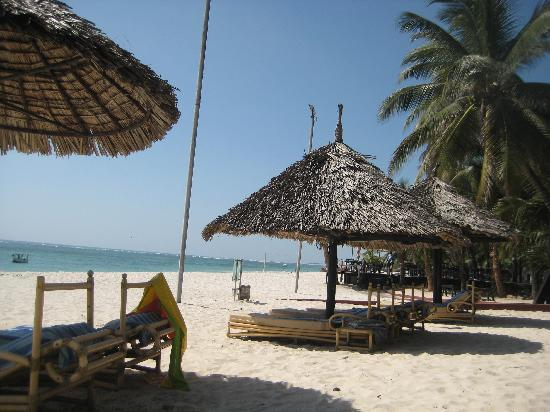Diani Reef Beach Resort & Spa : The lovely beach