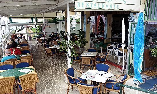 Restaurant Bellamar : die Terrasse