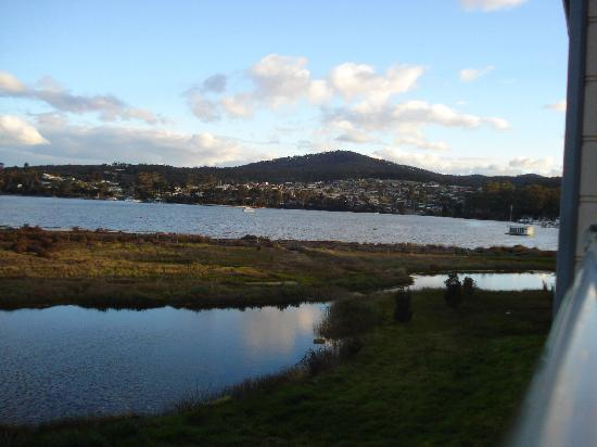Tidal Waters Resort: The REAL view from the hotel!
