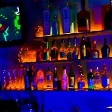 The Blue Room Sports Bar & Grill : We pour premium drinks.