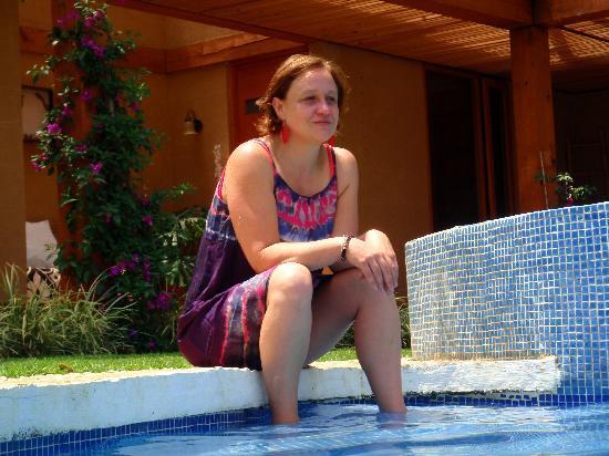 La Joya del Viento: Disfrutando la alberca