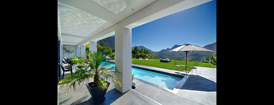 The Platinum Boutique Hotel: The view from one of the Pool Suites