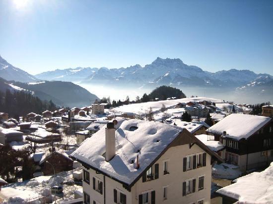 Alpine Classic Hotel Leysin: Blick aus dem Zimmer