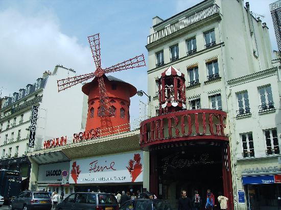 París, Francia: Moulin Rouge