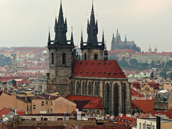Prague, Czech Republic: Church of Our Lady before Týn