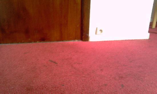 Hotel Windsor: Ashtray is the floor!