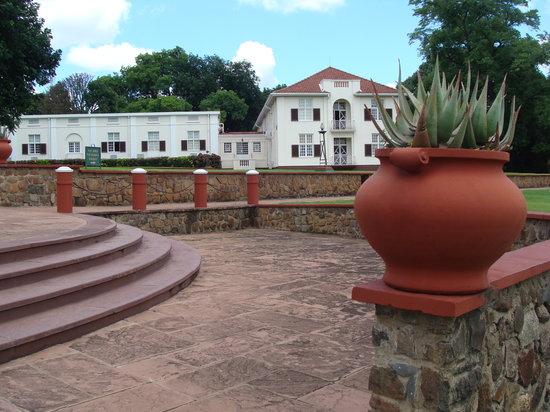 Stanley's Terrace: Just below the terrace