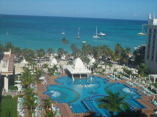 Hotel Riu Palace Aruba: view from our hotel room