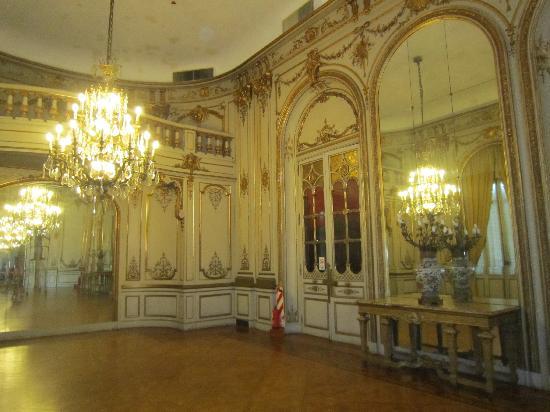 Palacio Paz: fashioned after Versailles
