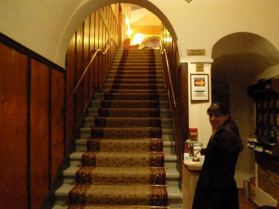 Hotel Casa Wagner: Just inside the main entrance.