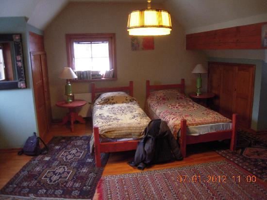 Homestay  Riga: Una delle camere
