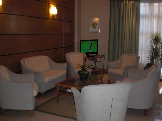 Hotel Central: comfortable sitting area