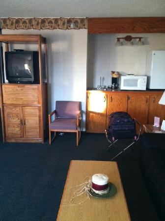 Days Inn Spearfish: The kitchenette