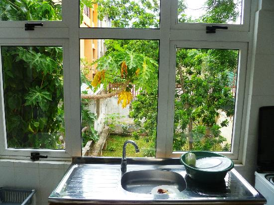 The Quiet Corner Guest House: View from kitchen