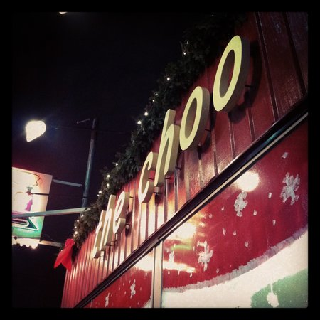 Choo Choo Restaurant: Instagram picture of the sign