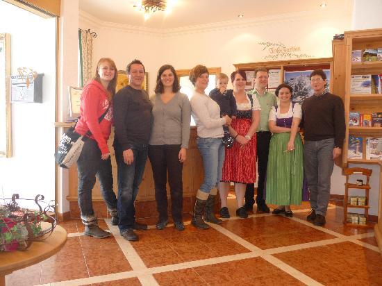 Grossarl, Αυστρία: wir mit den besitzern