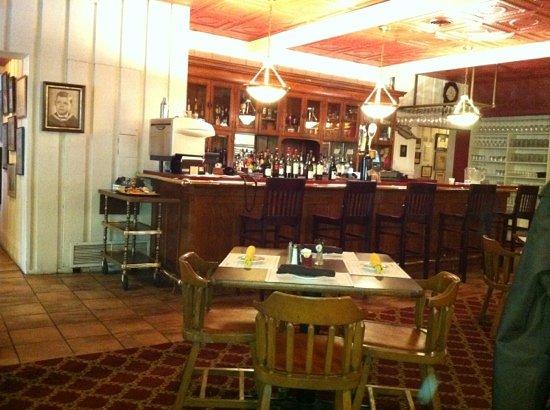 Hermann's European Cafe: the bar area at Hermann's