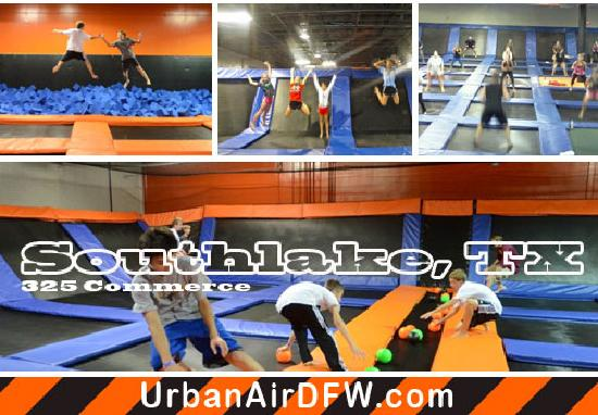 Southlake, Τέξας: Urban Air Trampoline Park