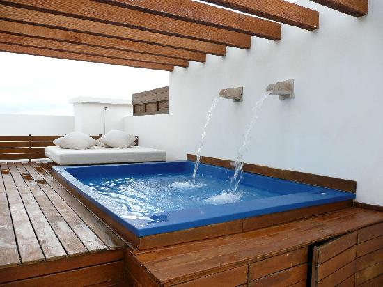 """Excellence Playa Mujeres: roof top """"pool"""""""