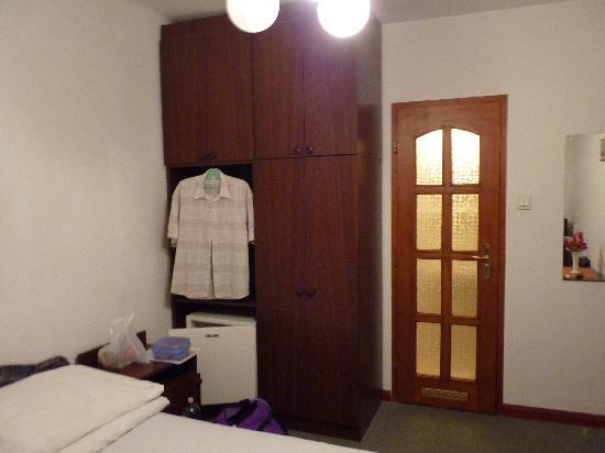 Hid Hotel: taken from the window
