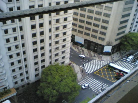 Hotel Excelsior Sao Paulo: vista da janela_apartamento de frete para avenida São João