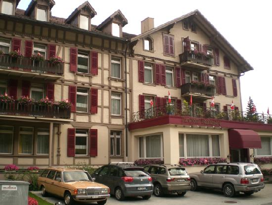 Parkhotel Marigold: the hotel front