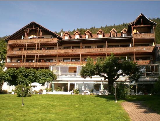 Parkhotel Marigold: the hotel back