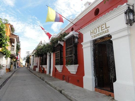 Hotel 3 Banderas: Fachada ho Hotel